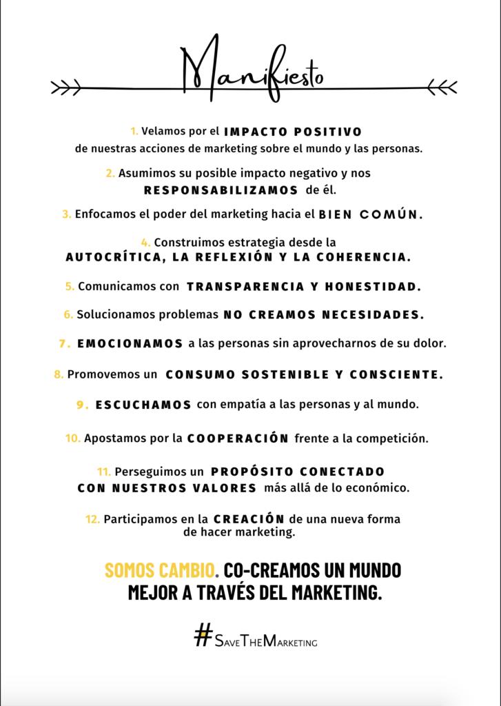 principios para un marketing ético, sostenible y enfocado al bien común