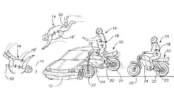 Un airbag para motoristas que,en el fondo, no está tan mal.