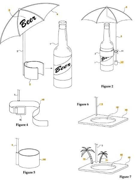 La Beerbrella, la solución ideal para tu cerveza en la terraza, en la barbacoa o en el chiringuito.