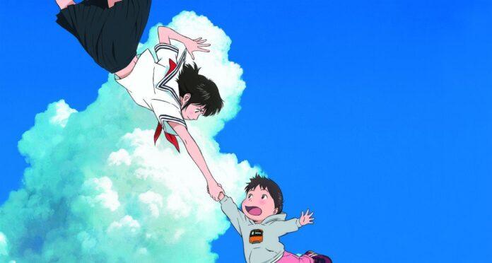 La Mirai del futuro lleva a su hermano Kun a dar un paseo por una realidad de fantasía.